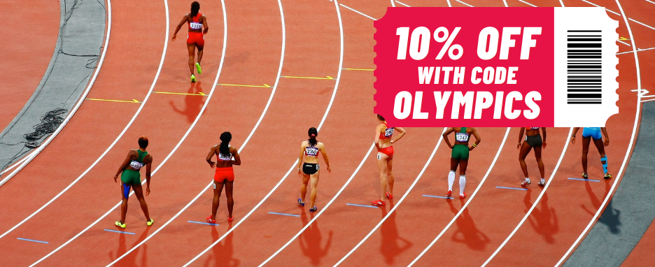 10% Off with code Olympics! Code: OLYMPICHOUR