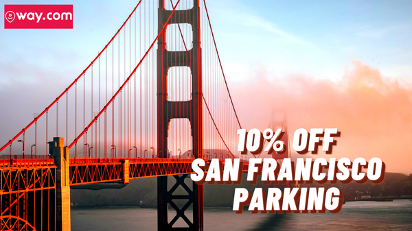 10% Off San Francisco Hourly Parking.